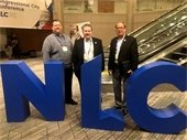Pickett, Boroughs, Archer at NLC conference