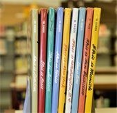 books at mesquite main library
