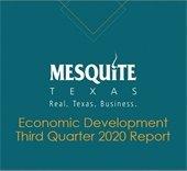 Economic Development Third Quarter Report