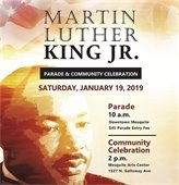 Martin Luther King, Jr. Parade and Community Celebration Jan. 19