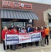 Blaze Pizza ribbon cutting