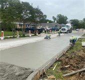 wllowbrook paving for Real Texas Roads program
