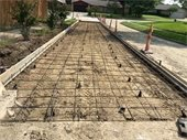 Real Texas Road - Meadowbrook construction