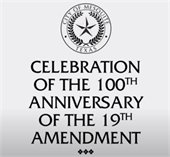 celebration of the 100th anniversary of the 19th amendent