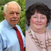 Dr. James Davidson and Dr. laura Lee Hall