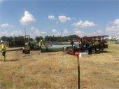 LBJ 635 East Project construction