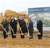 Groundbreaking ceremony for Urban District 30
