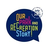 Parks and Rec month logo