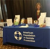 speaker staffing American Foundation for Suicide Prevention table