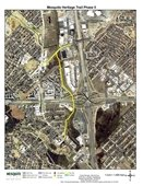 Mesquite Heritage Trail Project map
