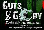 Guts and Gory Zombie Run and Challenge