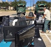 TVs dropped off at Mesquite Recycles Day