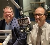mayor bruce archer and jeff armstrong discuss the census on KEOM