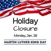 MLK Holiday closure
