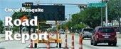 City of Mesquite Road Report logo