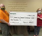 AMBUCS donates to Sharing Life for Spread the Love Campaign
