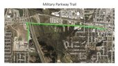 Military Parkway trail map