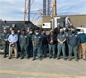 Equipment Services Team in front of truck