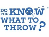 Text: Know What to Throw