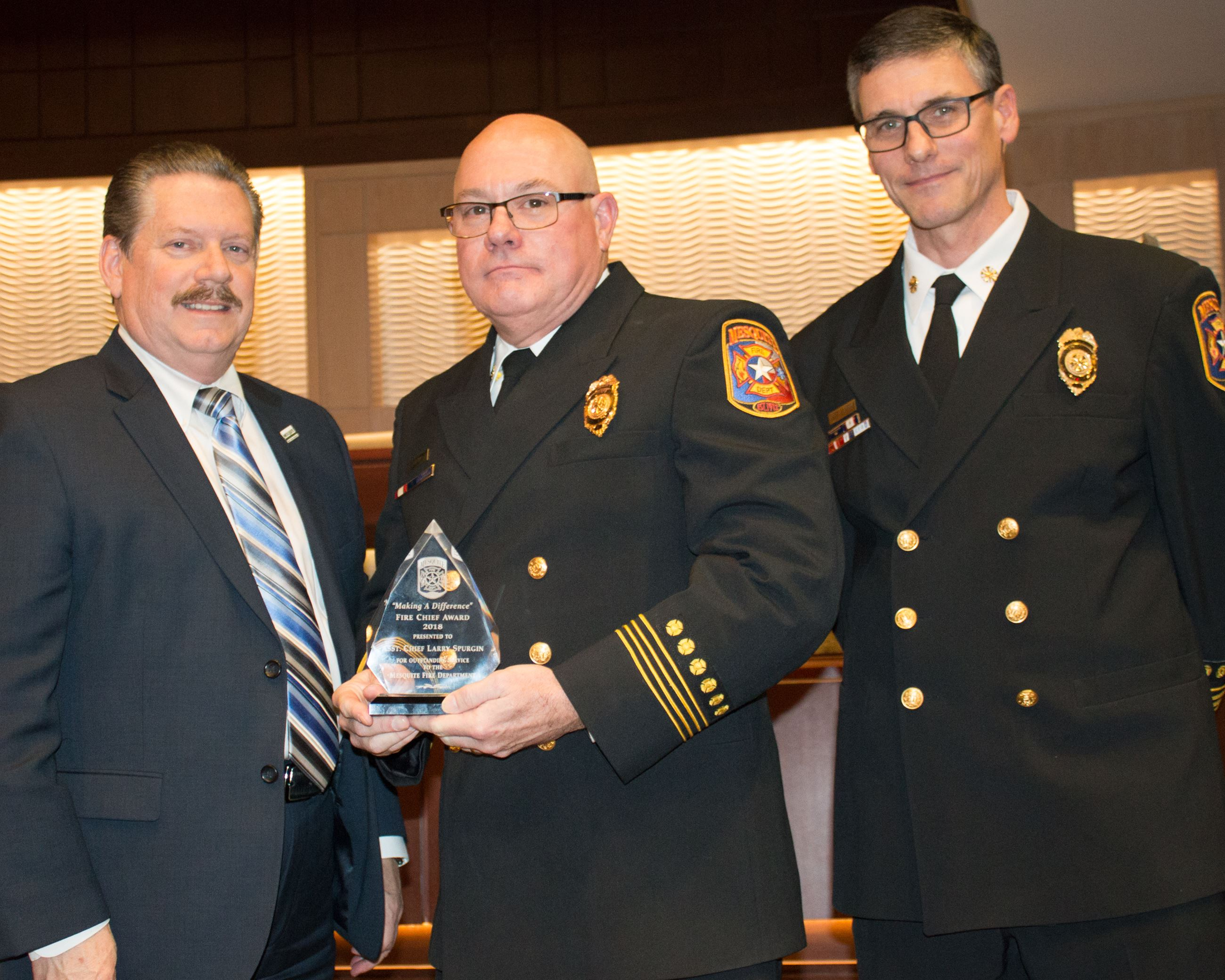 2018 Fire Chiefs Award - Ast Chief Larry Spurgin