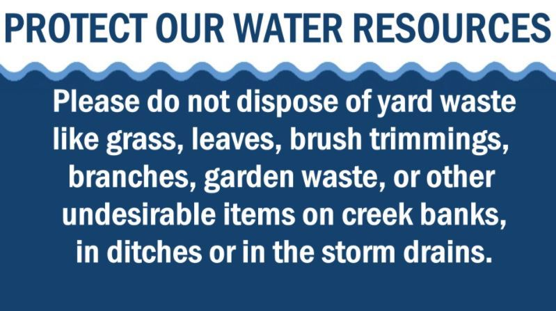protect our storm drains
