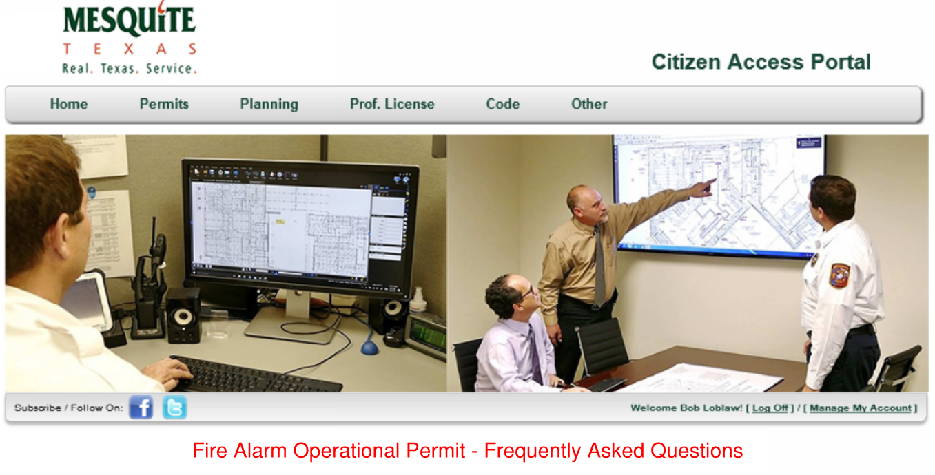 Fire Alarm Operational Permit - FAQs