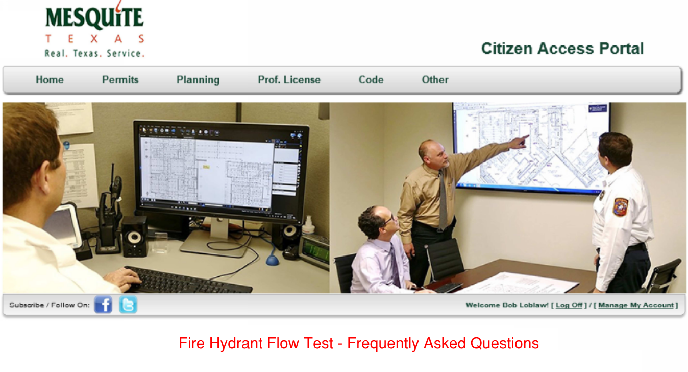 Fire Hydrant Flow Test - FAQs