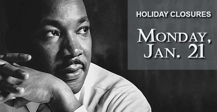 holiday closures_MLK Jr Day webslide_no hyperlink