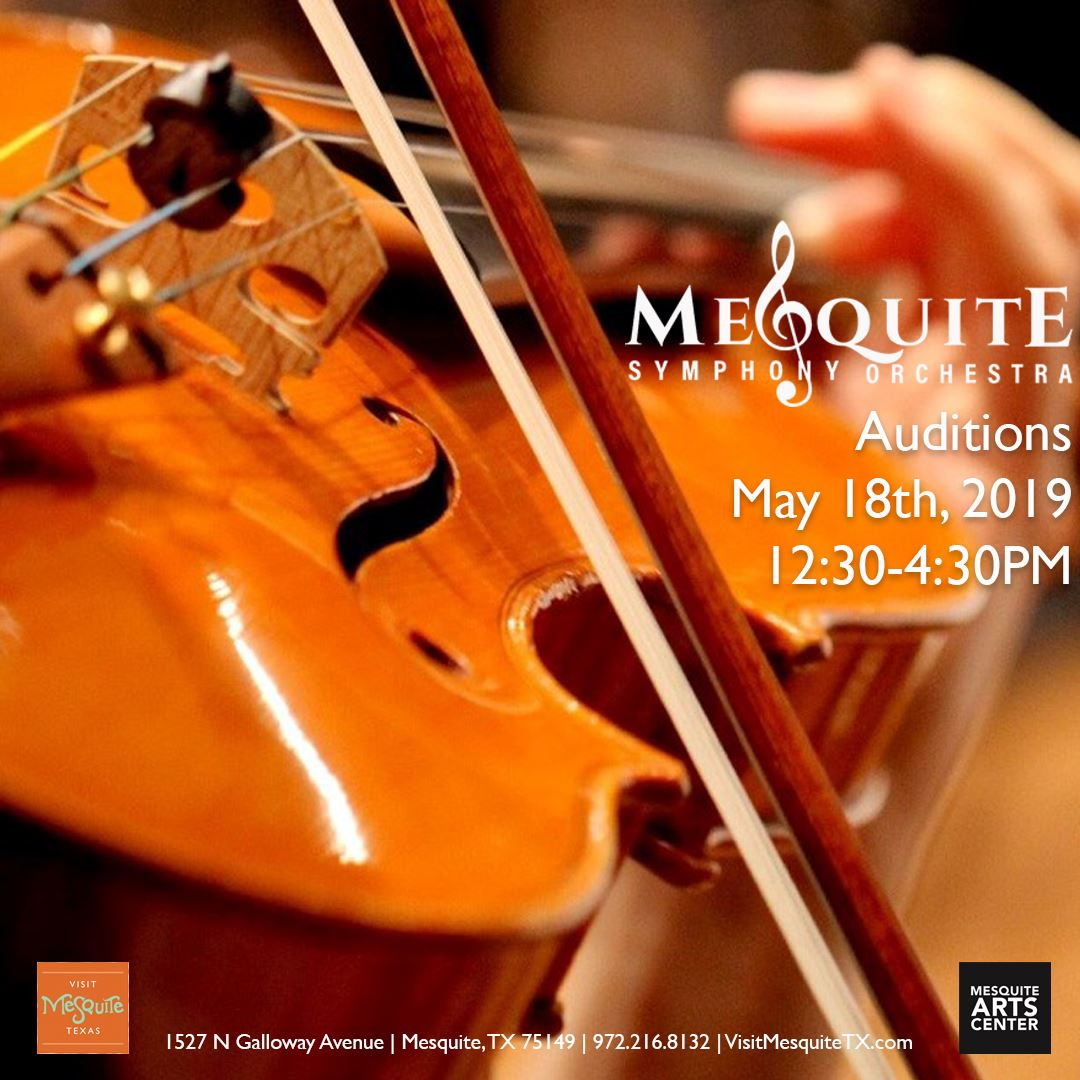 2019.05.18 Mesquite Symphony Orchestra Auditions Instagram
