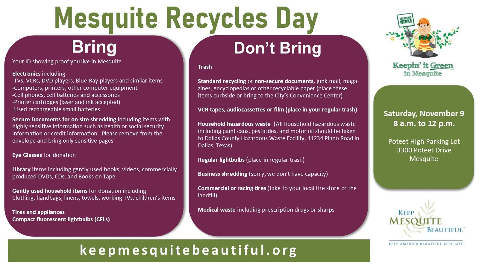 recycles day 2019