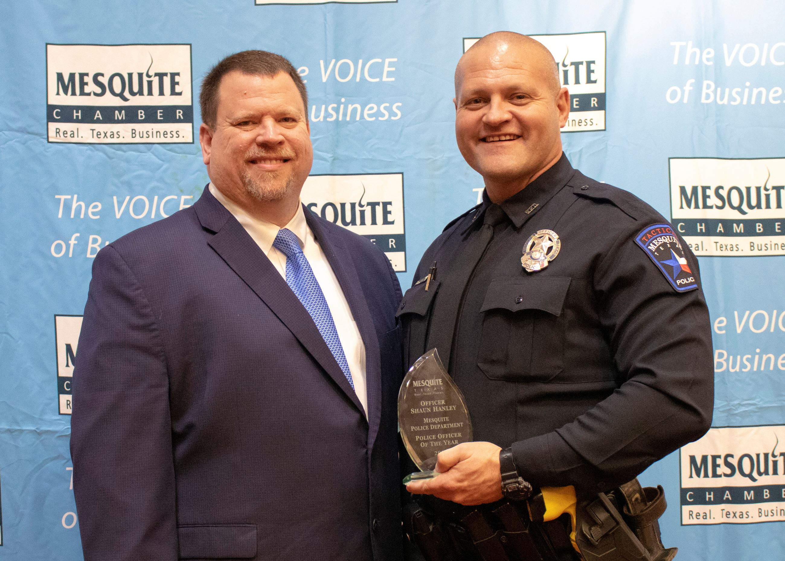 2020 Officer of the Year Honoree