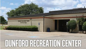 Dunford Recreation Center Graphic