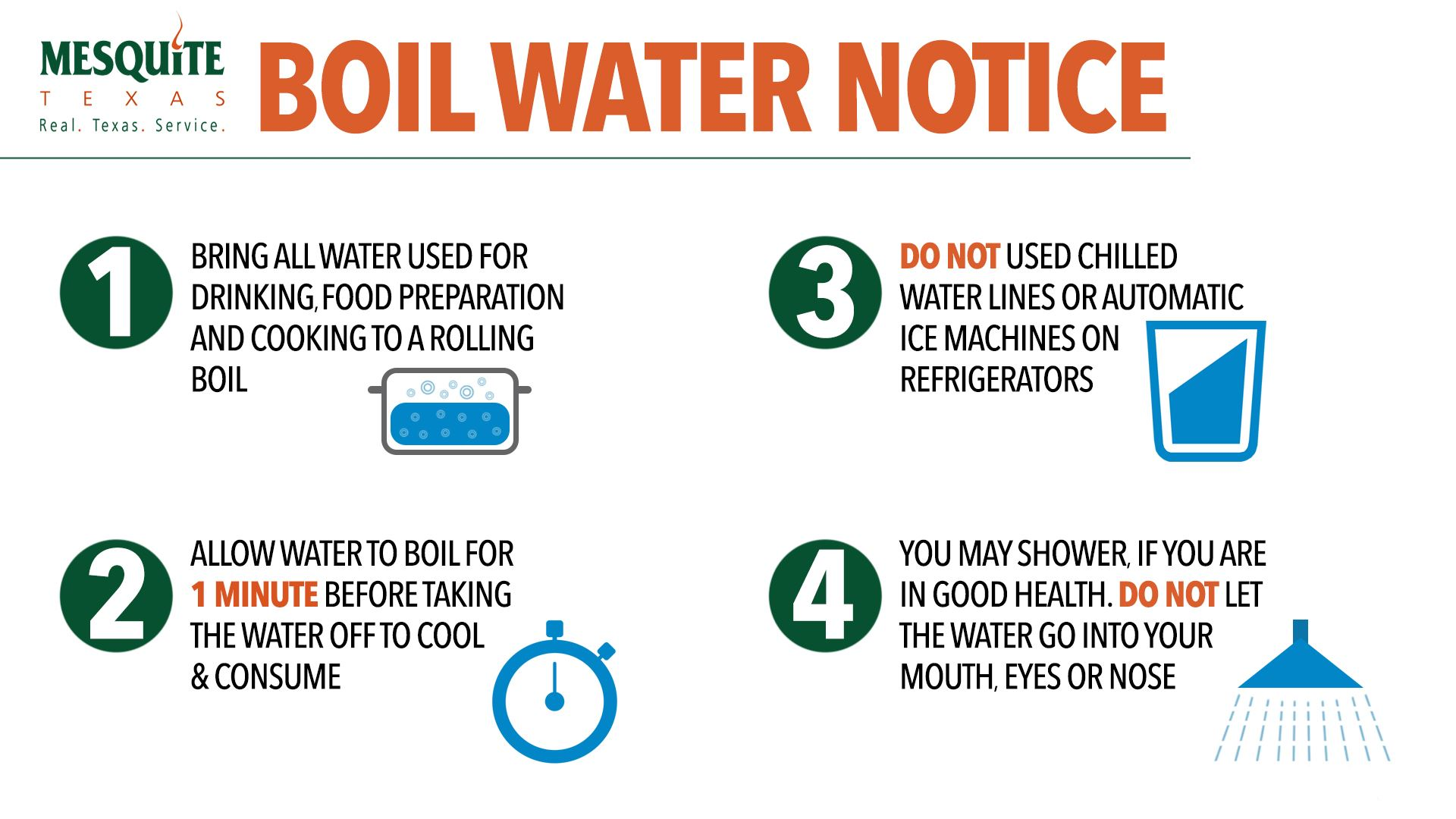 CDC Boil Water Information