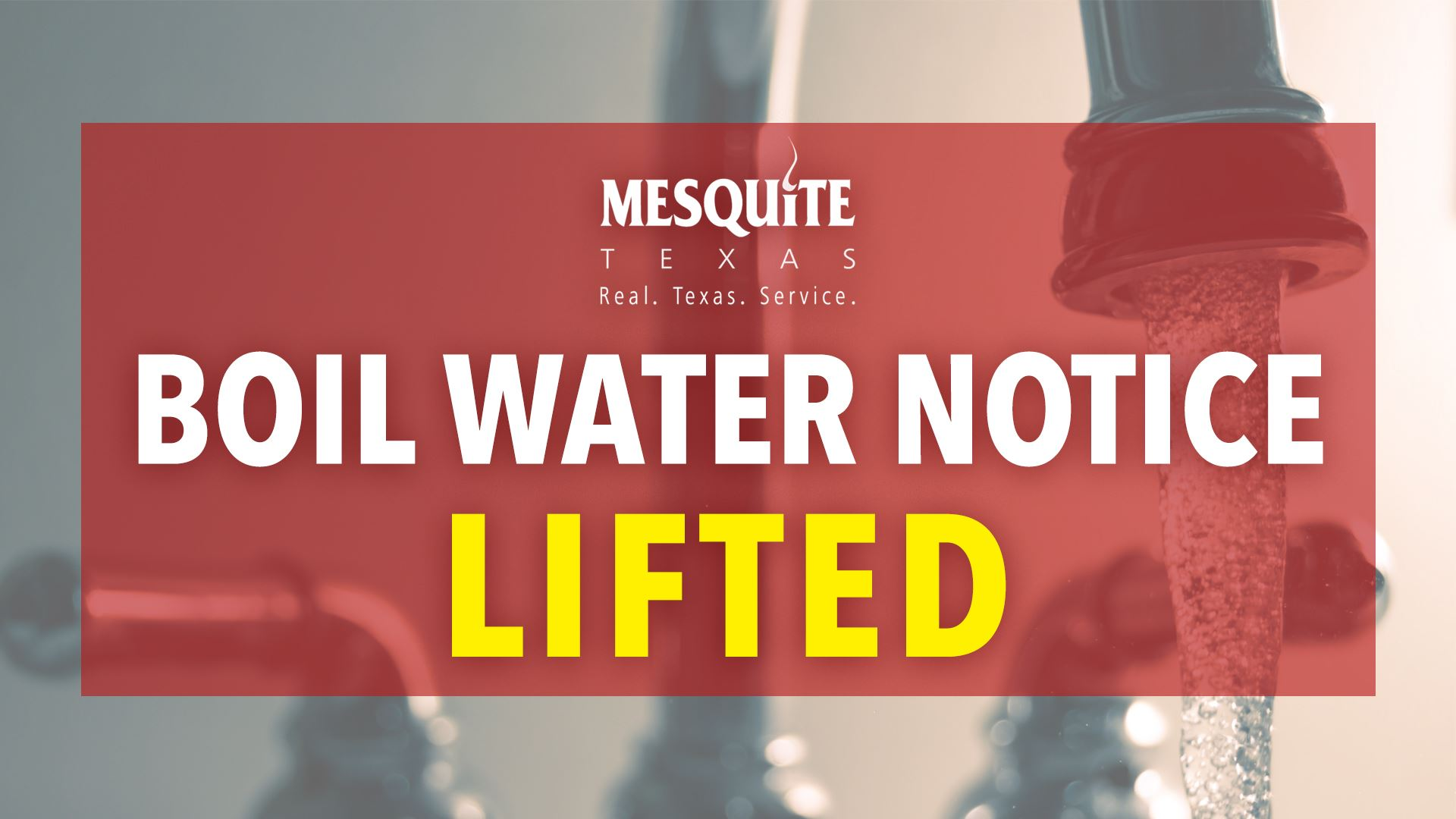Lifted Boil Water Notice