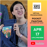 2021.04.17 Pocket Painting with Sidney Rey Allen Instagram