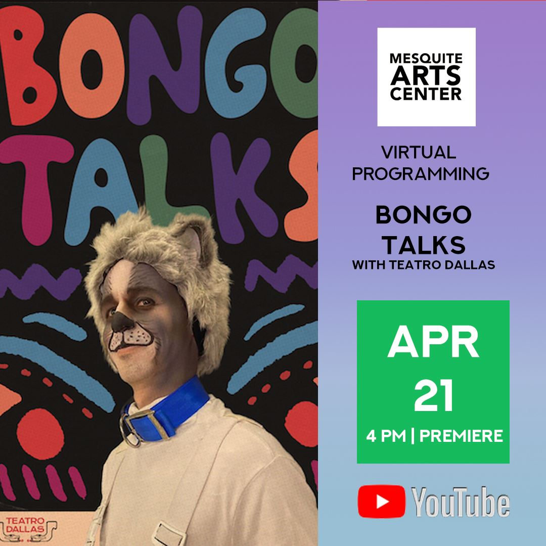 2021.04.21 Bongo Talks with Dallas Teatro Instagram