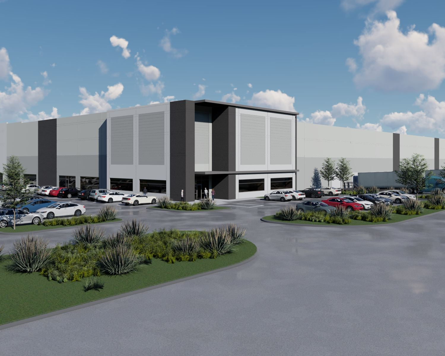5-7-21 Mesquite Airport Logistics Center - rendering of one building - Mesquite TX
