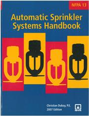 NFPA 13 - Installation of Sprinkler Systems 2007 edition