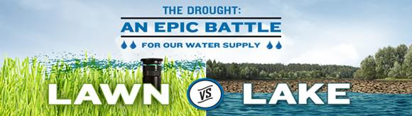 The Drought: An epic battle for our water supply - Lawn Vs Lake