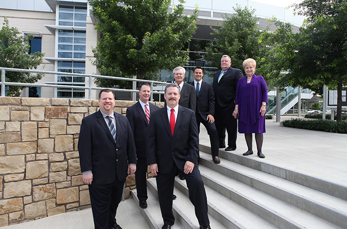 2015 Mesquite City Council-City Hall stairs