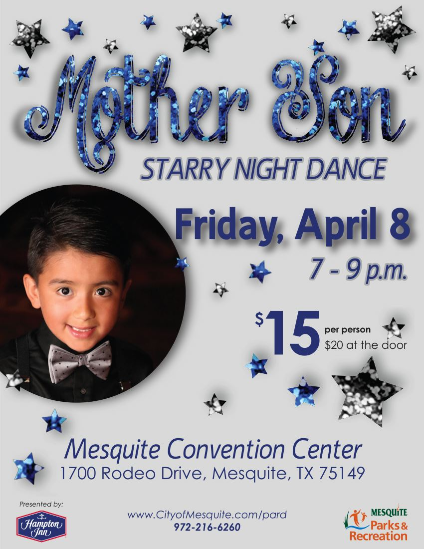 Mother Son Dance Poster