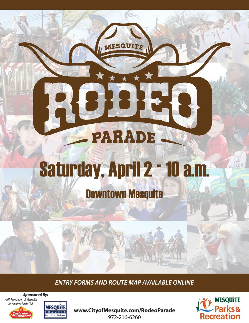 59th Mesquite Rodeo Parade Poster