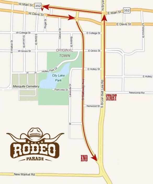 2020 Rodeo Parade Mesquite Tx Official Website