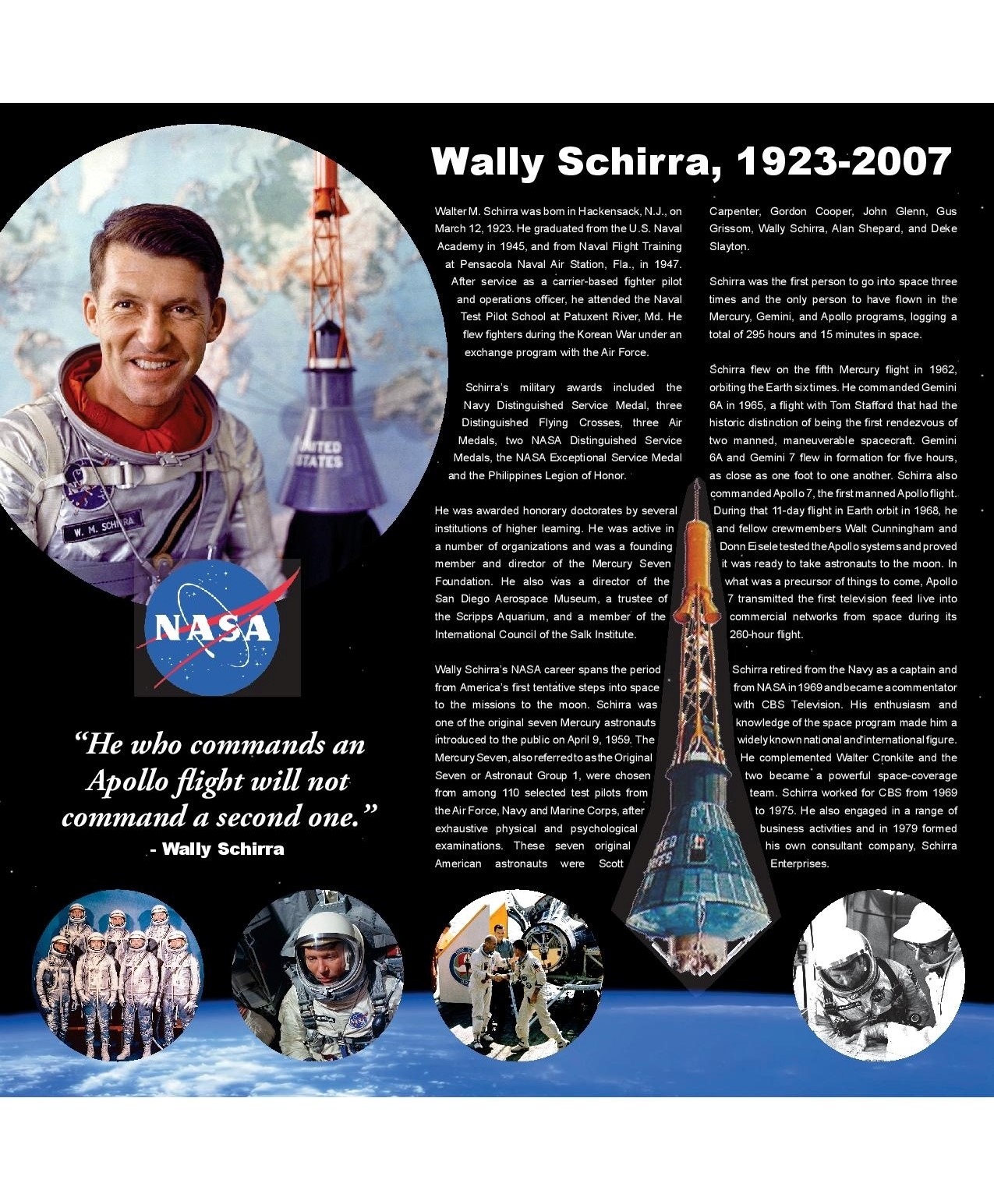 City of Mesquite Trail Monument_Wally Schirra - placard.jpg