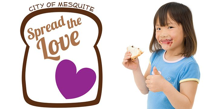 Spread the Love peanut butter and jelly food drive