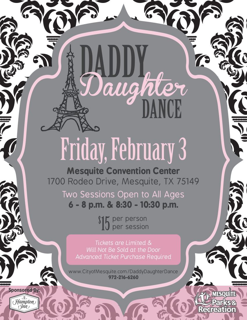 Daddy Daughter Dance Poster