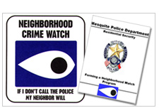 Forming a Neighborhood Watch Program booklet