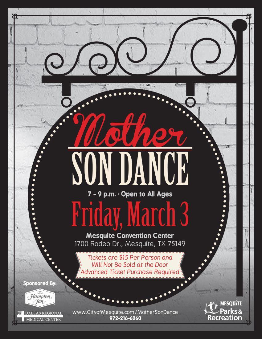 Mother Son Dance 2017 Mesquite Tx Official Website