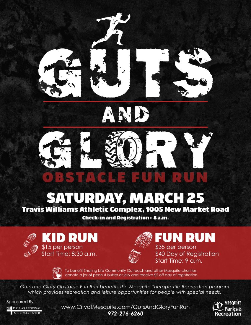 Guts and Glory Poster