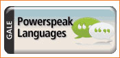 Gale Powerspeak Languages logo